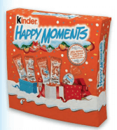 Kinder Happy Moments     243 гр. 1/7 шт.